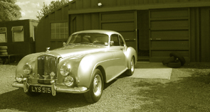 Bentley car restoration example